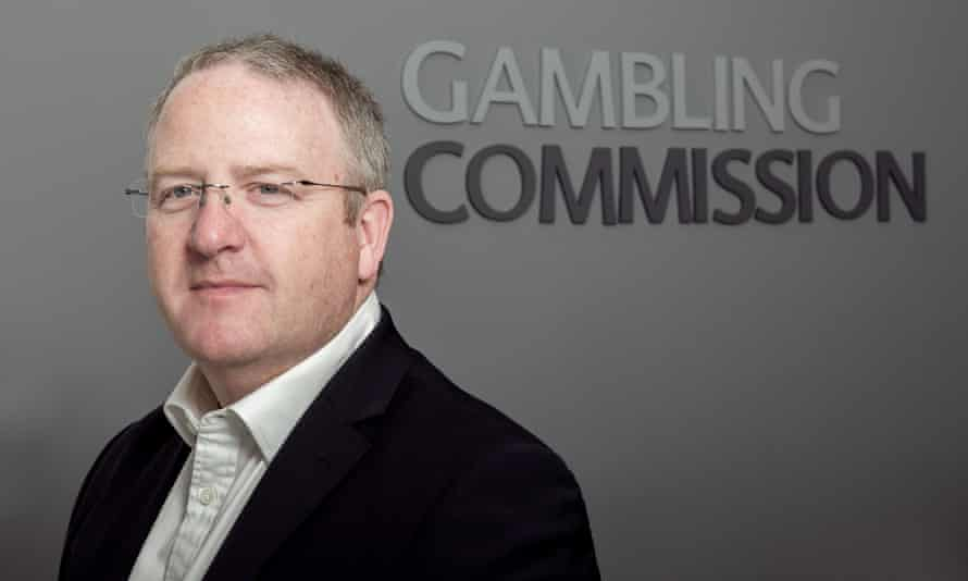 Neil McArthur, CEO of the gambling commission