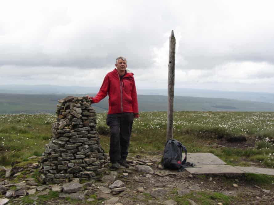 Jonathan Smith on Buckden Pike in Yorkshire