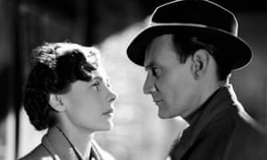 Oh no you don't! Celia Johnson and Trevor Howard in Brief Encounter.