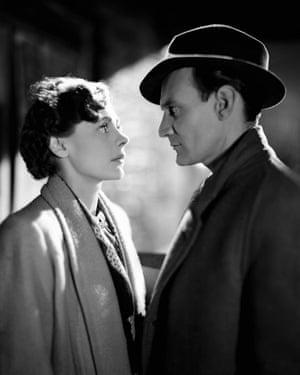 Celia Johnson and Trevor Howard in the 1945 film Brief Encounter.