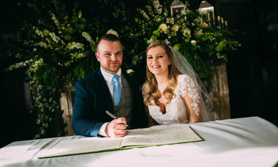 'Weddings which take place in part for our titillation' ... Michelle and Owen in Married at First Sight.