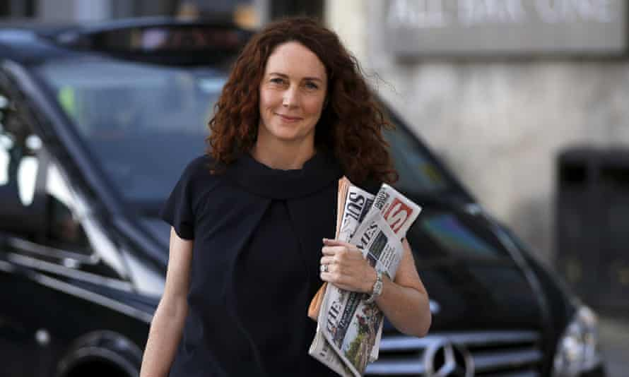 Rebekah Brooks, chief executive of News UK