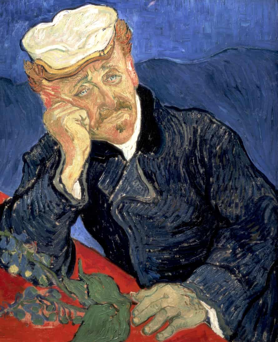 Portrait of Dr Gachet, 1890 by Vincent van Gogh