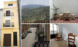 """The four-bedroom house in rural Valencia, as it appeared on <a href=""""http://www.lotohome.es/"""">www.lotohome.es/</a> during the raffle."""