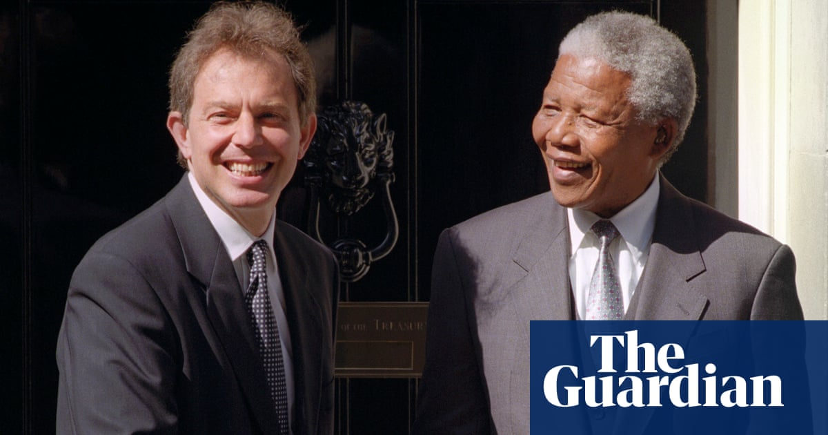 Tony Blair urged Nelson Mandela not to discuss Lockerbie trial, papers show