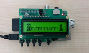 A Doctor Who-themed Raspberry Pi project sent in by a reader.