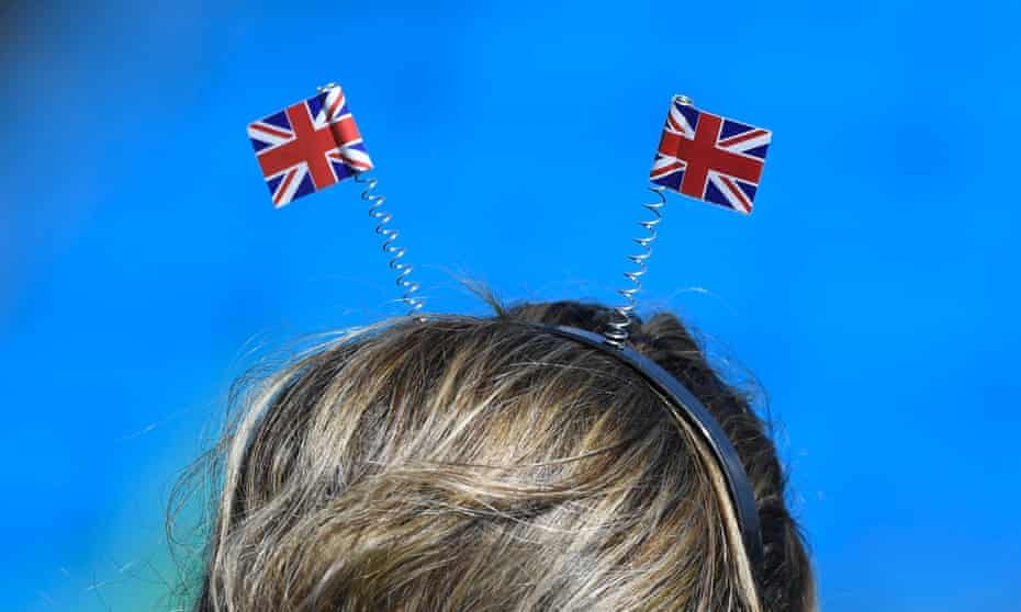 A British supporter at the 2016 Rio Olympic Games
