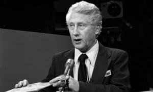 Mark Felt appears on CBS' Face The Nation on 30 August 1976.
