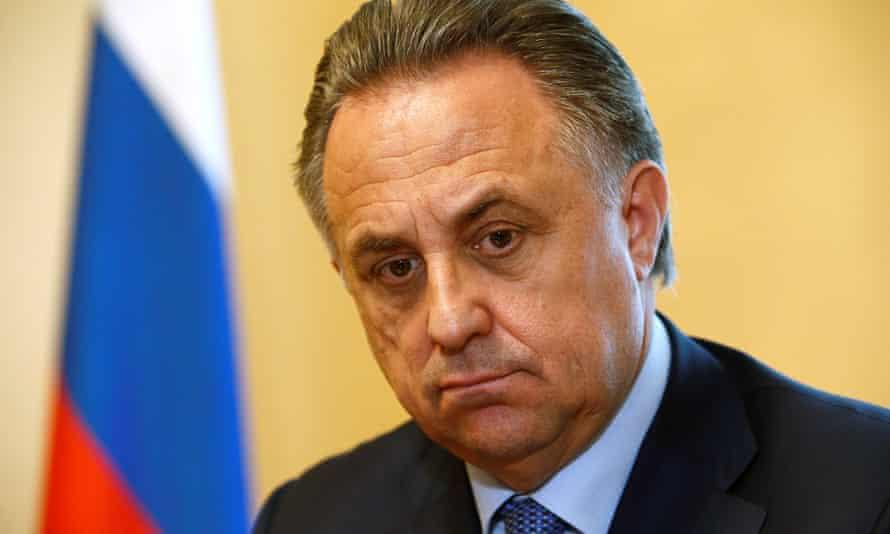Vitaly Mutko, Russia's minister of sport