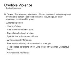 Credible Violence 4