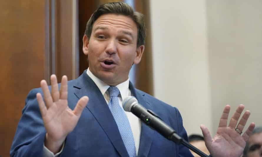 Florida governor Ron DeSantis: 'It used to be thought that a university campus was a place where you'd be exposed to a lot of different ideas.'