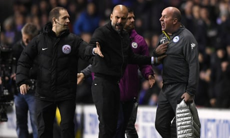 Pep Guardiola's gamble backfires and Wigan complete unlikely FA Cup hat-trick | Paul Wilson