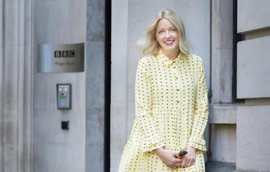 Lauren Laverne, photographed for the Observer by Pal Hånsen in central London