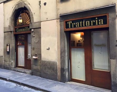 Trattoria Cammillo, Florence