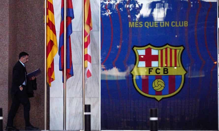 Josep Maria Bartomeu left Barcelona with a bombshell, claiming the club have signed up to a future European super league.
