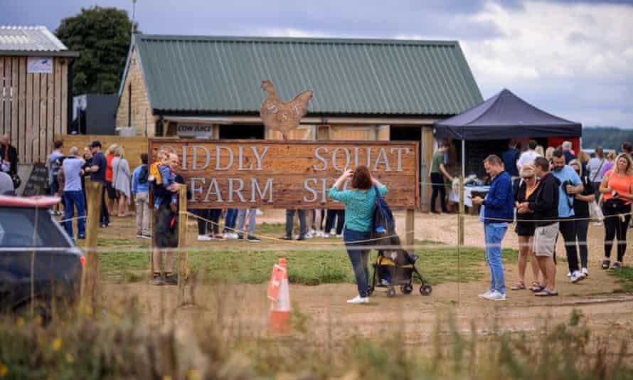 Jeremy Clarkson's Diddly Squat farm shop.