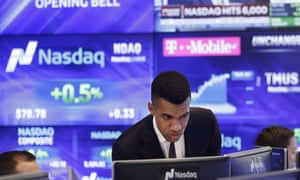 The Nasdaq Composite hit a fresh record on Thursday boosted by strong earnings by tech companies.