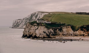 Freshwater Bay and its cliffs