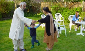 sami baloch and his grandparents - Health Insurance For Green Card Holders Senior Citizen Parents