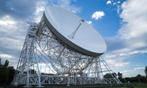 The Lovell telescope, Jodrell Bank.