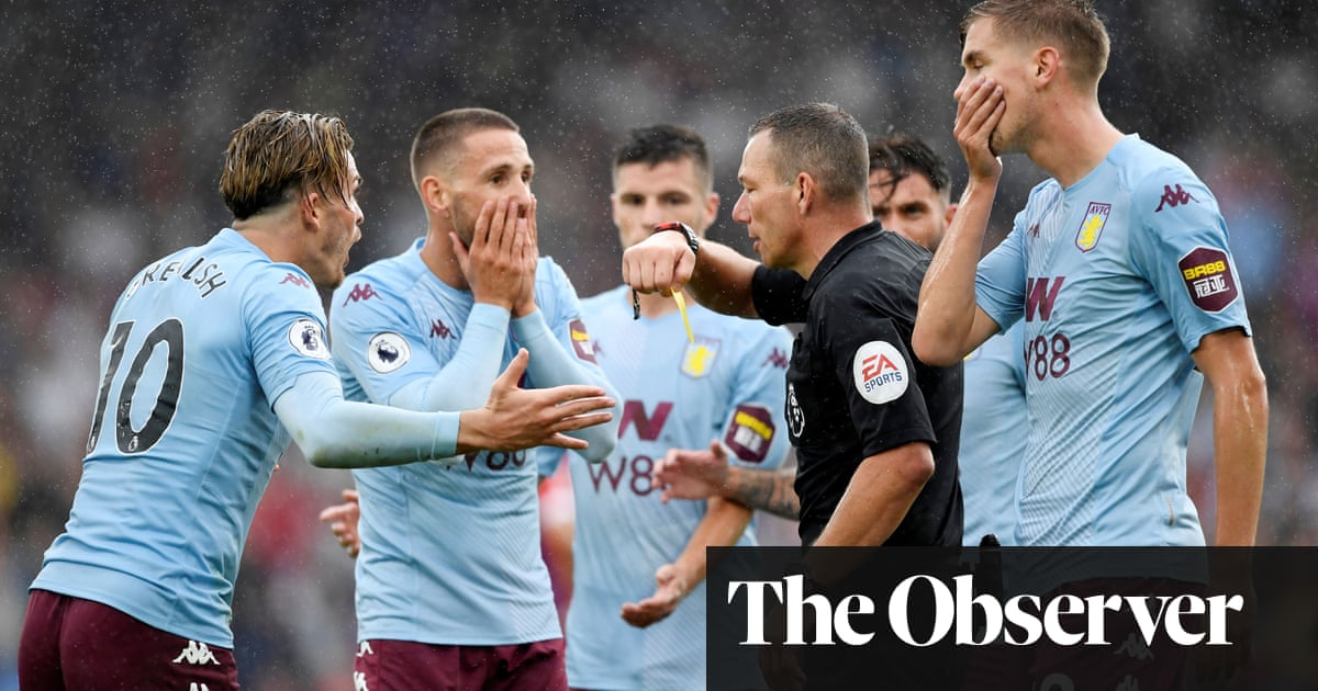 Aston Villa rage at disallowed equaliser as Ayew earns Crystal Palace win