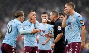 Aston Villa rage at disallowed equaliser as Ayew earns
