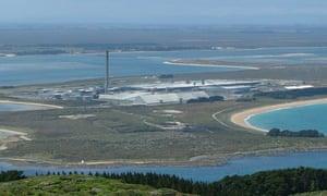 Tiwai Point Aluminium Smelter