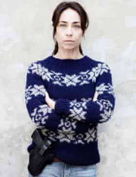 Relentless jumper wearer … Sofie Gråbøl as detective Sarah Lund in The Killing.