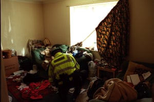Police raid a property in Peterborough as part of a county lines bust.