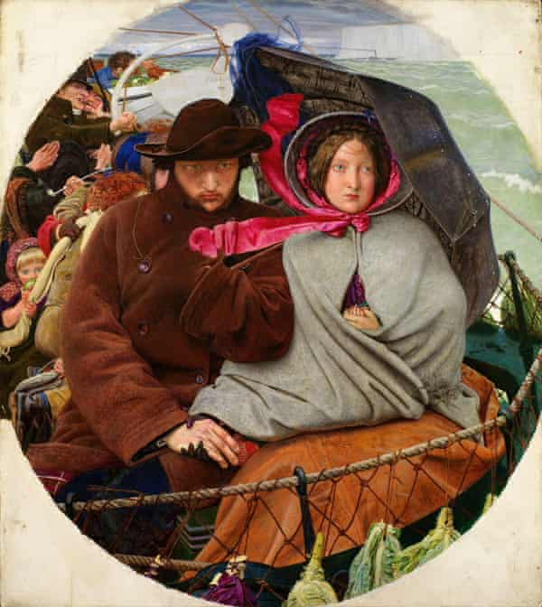 The Last of England (1852-1855), by Ford Madox Brown