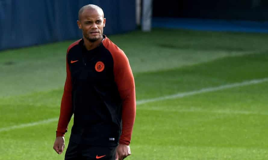 Vincent Kompany has suffered 34 separate injuries in eight years at Manchester City.