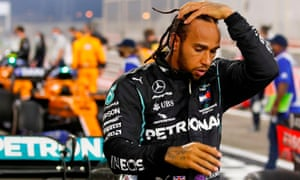 Lewis Hamilton is self-isolating in Bahrain, his team Mercedes said in a statement.