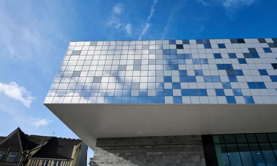 The new Box museum in Plymouth, UK
