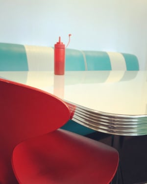 First place in still life – a colourful, curvy diner in London. Shot on iPhone 7.