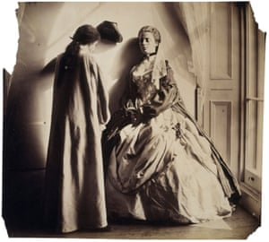 Photographic Study (Clementina and Isabella Grace Maude) (1863-64) by Clementina Hawarden