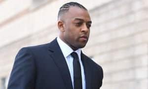 Oritse Williams outside Wolverhampton crown court.