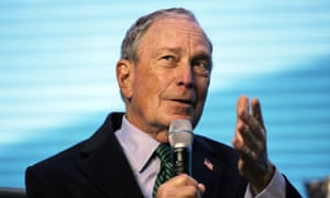 Michael Bloomberg has poured $13.5m into TV ads in California.