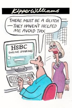 Kipper Williams on HSBC's online banking glitch   Business