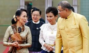 Myanmar's Aung San Suu Kyi