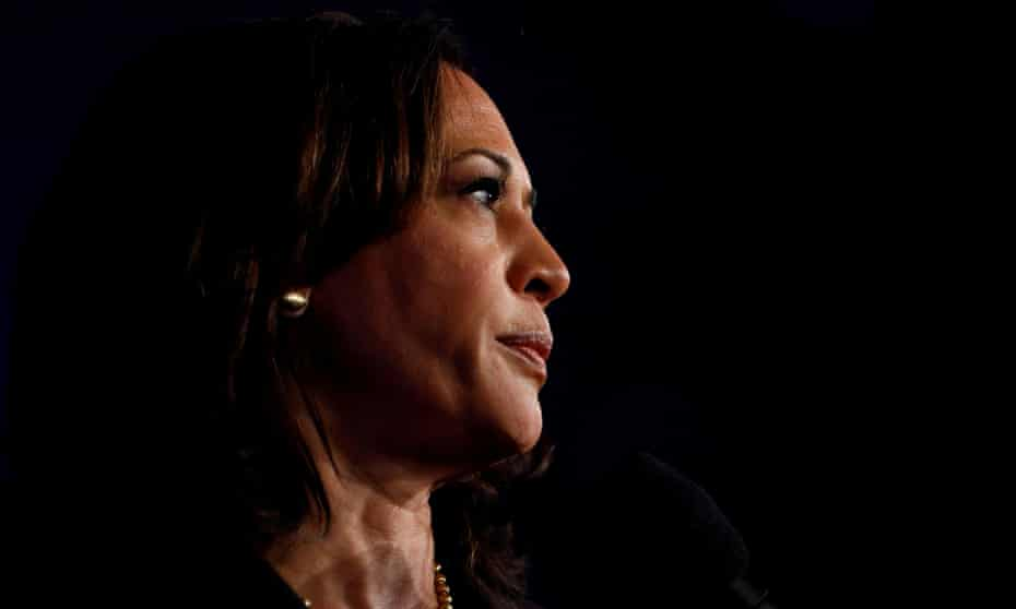 Kamala Harris. Nasty or 'not nice' seem to be words Trump reserves for women who hold men in power to account.