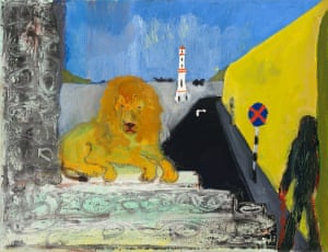 Chopped Hand By Peter Doig 2017