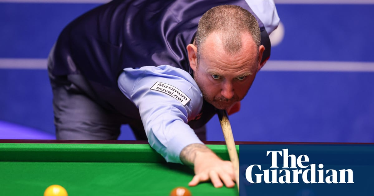 Mark Williams defends controversial break-off after first-round win