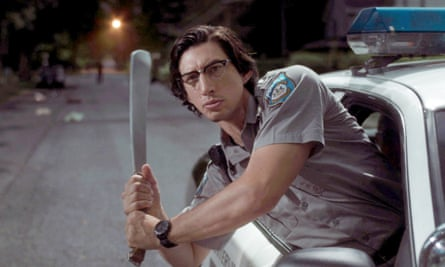 Adam Driver in The Dead Don't Die by Jim Jarmusch.