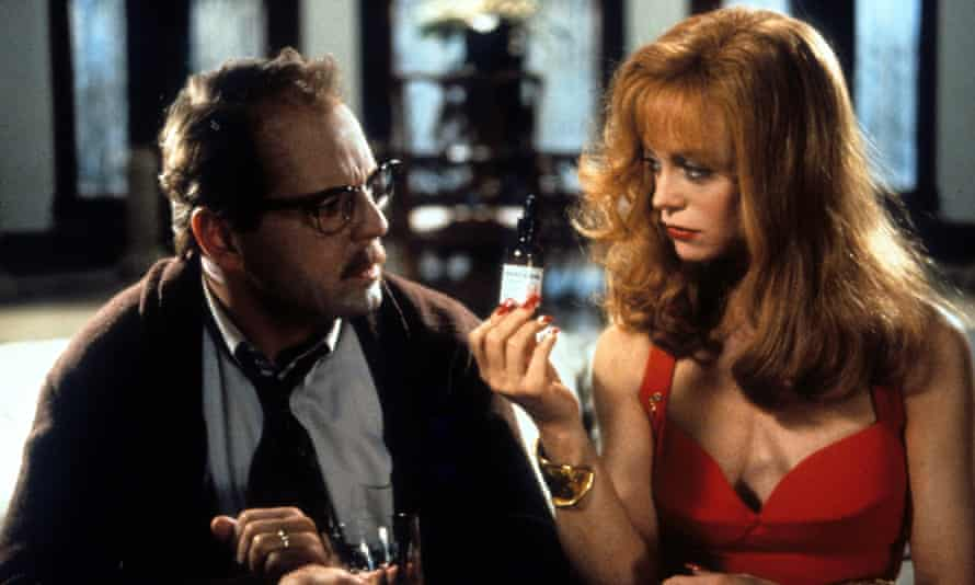 Bruce Willis and Goldie Hawn in Death Becomes Her.
