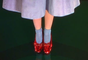 Dorothy's ruby slippers from The Wizard of Oz | $666,000One of just four known existing pairs of Dororthy's red slippers from The Wizard of Oz earned $666,000 at an auction in 2000. Leonardo DiCaprio, with a group of donors that included Steven Spielberg, helped the Academy of Motion Picture Arts and Sciences acquire another pair in 2012 for at least $2m.