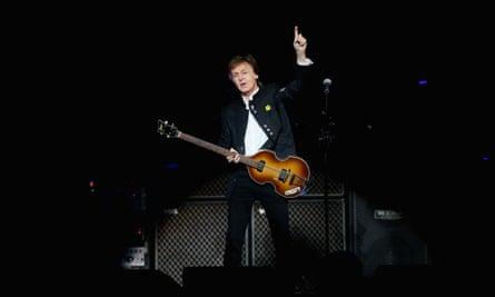 Paul McCartney on his Australian tour