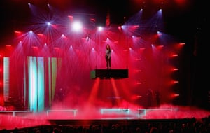 Amy Shark performs at the Arias