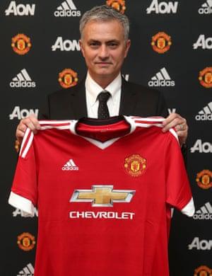 José Mourinho and a new shirt.