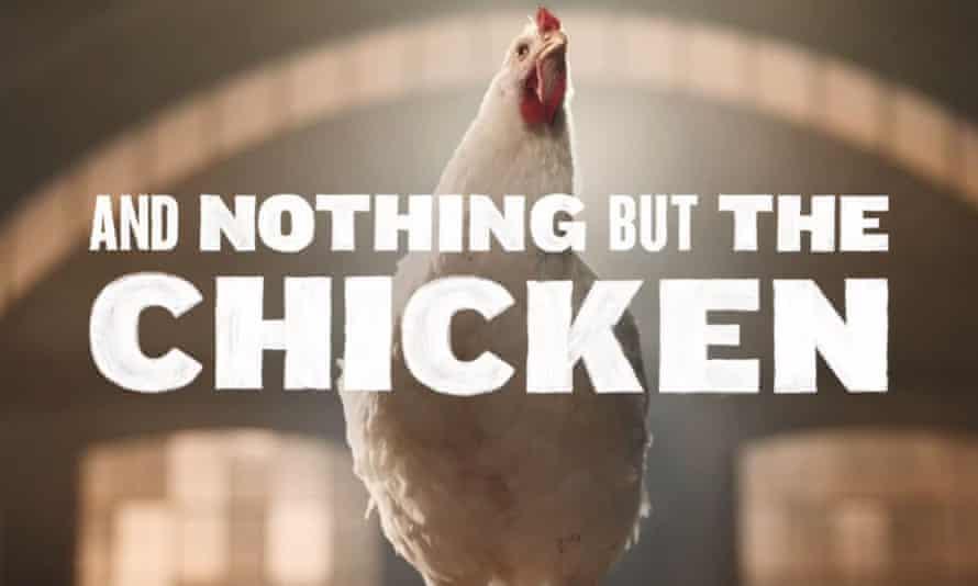 Still from KFC dancing chicken ad