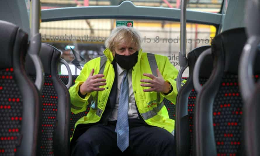 Boris Johnson visits National Express Coventry